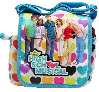"Birthday Gift Special   Disney High School Musical HSM Stylish Dots Carryout Purse, Size 9"" X 8"", One Purse Will Be Sent Randomly Toys & Games"