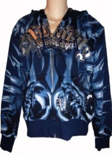Men's Ed Hardy Hoodie Hooded Sweat Jacket Sweatshirt Available in Several Sizes (XL) at  Men�s Clothing store Fashion Hoodies