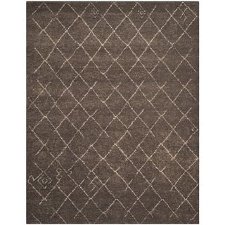 Safavieh Tunisia Dark Brown Rug (9 X 12)