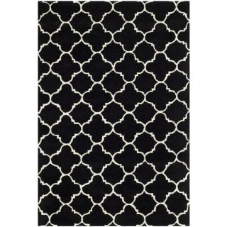 Safavieh Chatham Black Handmade Moroccan Contemporary Wool Rug (4 x 6