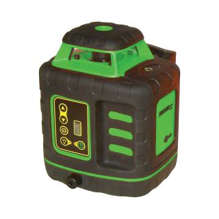 Johnson Level & Tool Electronic Self-leveling Rotary Laser Level with GreenBrite Technology, Model# 40-6543  Laser Levels