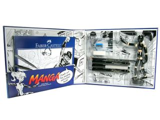 Alvin Fc800095 Faber Castell Getting Started Complete Manga Drawing Kit