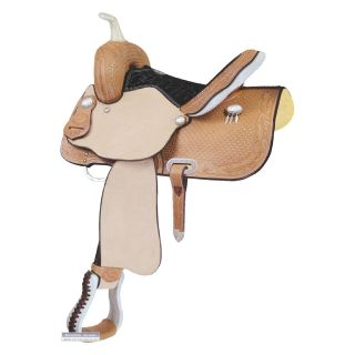 Billy Cook Saddlery Junior Feather Barrel Racer Saddle