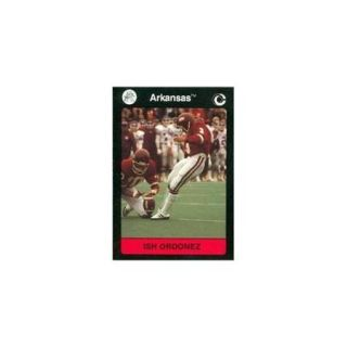 Ish Ordonez Football Card (Arkansas) 1991 Collegiate Collection No. 70