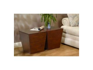 Mesa Storage Cube, End Table By Winsome Wood
