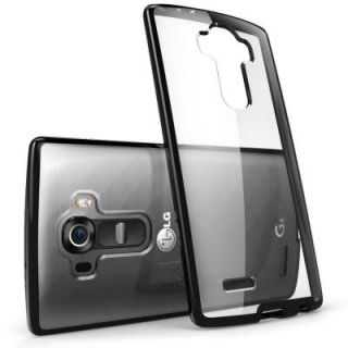 i Blason Halo Scratch Resistant Case for LG G4, Clear/Black LG G4 Halo Clear/Black