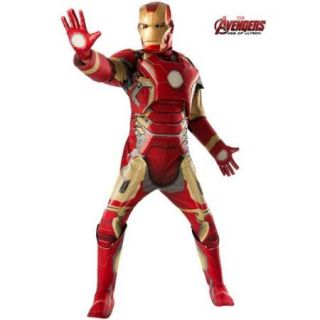 Adult Avengers 2 Iron Man Deluxe Mark 43 Costume   Size XL
