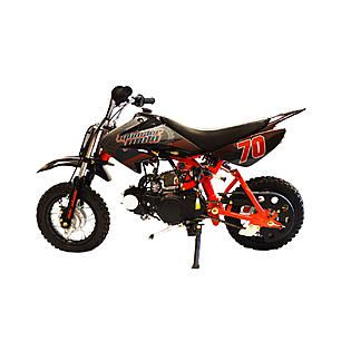 Monster Moto Pit Gas Bike 70cc Red   Fitness & Sports   Wheeled Sports