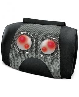 Homedics SP 50H Shiatsu and Vibration Massage Pillow with Heat