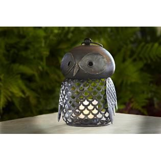 Jaclyn Smith Today  Large Owl Candle Holder
