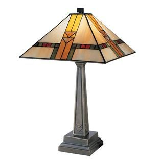 Dale Tiffany Edmund Mission Style Table Lamp   Home   Home Decor