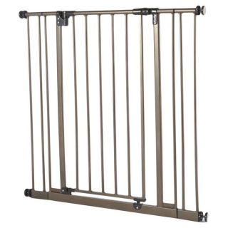 North States Extra Tall Easy close Bronze Metal Gate   15751587