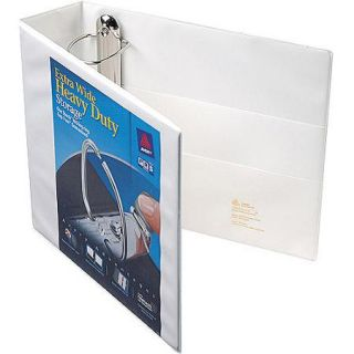 "Avery Extra Wide Heavy Duty View Binder with 1"" One Touch EZD Ring, White"