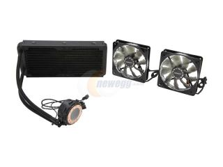 Enermax ECL240 240mm All in One Liquid CPU Cooler with 3 PWM Fan Modes and Dual Fans