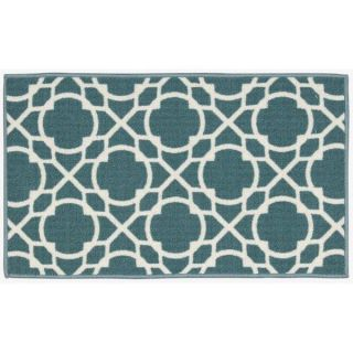 Waverly by Nourison Fancy Free Aqua Accent Rug (18 x 210)