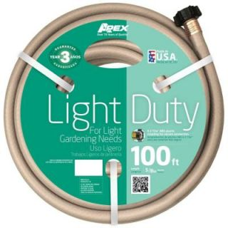 Apex 5/8 in. Dia x 100 ft. Light Duty Water Hose 8400 100