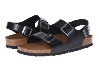Birkenstock Milano   Leather Soft Footbed (Unisex)