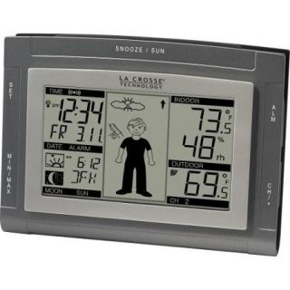 La Crosse Technology  Wireless Weather Station Alarm Clock