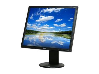 "Acer B193DJbmdh Black 19"" 5ms Swivel & Height Adjustable LCD Monitor 250 cd/m2 ACM 50000:1(800:1) Built in Speakers"