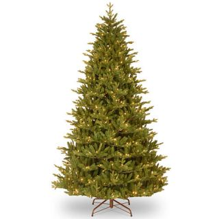 7.5 Foot Woodward Fir Tree with Clear Lights    National Tree Company