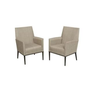 Hampton Bay Aria Patio Dining Chairs (2 Pack) FCS80233TPK