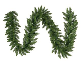"9' x 20"" Camdon Fir Artificial Christmas Garland – Unlit"