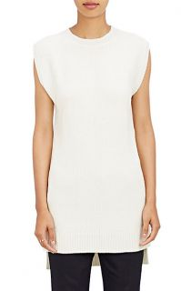 Tess Giberson Sleeveless Rib Knit Sweater