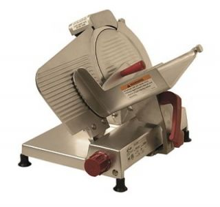 "Axis AX S9ULTRA 9"" Light Duty Meat Slicer   Belt Driven, Built In Sharpener, Aluminum, .25 hp, 120v"