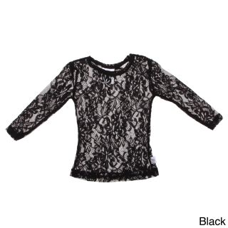 Andee Lew Girls Lace Long Sleeve Shirt   Shopping   The