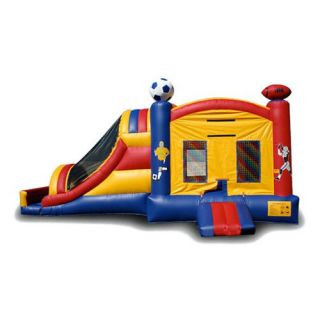 EZ Inflatables Sport Combo Bounce House   Commercial Inflatables
