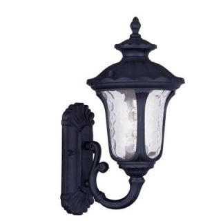 Filament Design Providence Wall Mount 1 Light Outdoor Black Incandescent Lantern CLI MEN7850 04