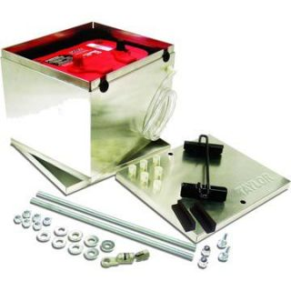 Taylor Cable Aluminum Battery Box And Hold Down Kits