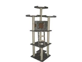 "Best Choice Products SKY667 Cat Tree 80"" Condo Furniture Scratching Post Pet House"