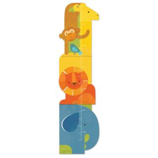 Animal Tower Folding Growth Chart by Petit Collage