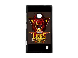 Creative Design Harry Potter Gryffindor Quidditch Background Case Cover for Nokia Lumia 520  Personalized Hard Cell Phone Back Protective Case Shell Perfect as gift