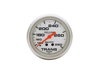 Auto Meter Ultra Lite Mechanical Transmission Temperature Gauge