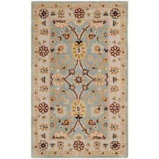 Safavieh Antiquity Light Blue/Ivory 4 ft. x 6 ft. Area Rug AT249A 4