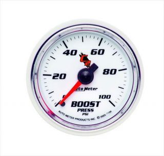 Auto Meter   C2 Mechanical Boost Gauge