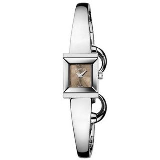 Gucci Womens G Frame Stainless Steel Watch   14671411