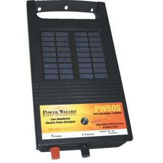 Power Wizard® 6 volt Solar Electric Fence Energizer