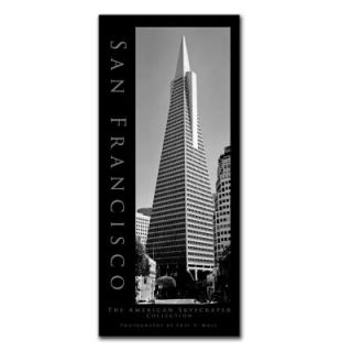 Trademark Fine Art 14 in. x 32 in. San Francisco Canvas Art EM182 C1432GG
