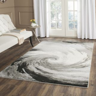 Safavieh Evoke Cream/ Dark Grey Rug (86 x 12)