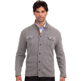 Luigi Baldo Italian Made Mens Cashmere Blend Cardigan   15747677