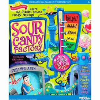 POOF Slinky 0SA256 Scientific Explorer Sour Candy Factory Kit, 6 Activities