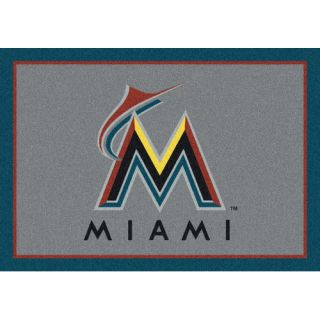 MLB Spirit Miami Marlins Novelty Rug by My Team by Milliken