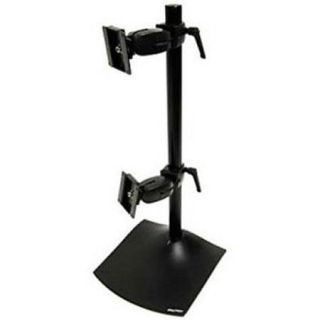 Ergotron DS100 Vertical Dual Monitor Desk Stand 33091200