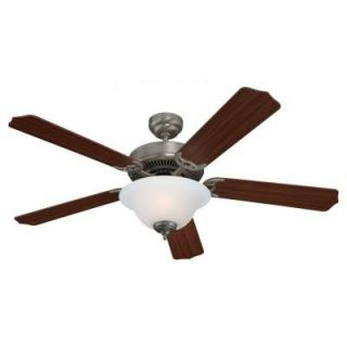 Sea Gull Lighting Quality Max Plus 52 in. Brushed Nickel Indoor Ceiling Fan 15030BLE 962