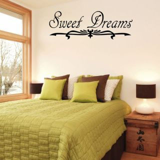 Design on Style Sweet Dreams Vinyl Wall Art Quote