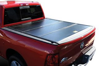 2012 2016 Dodge Ram Folding Tonneau Covers   BAK 72203RB   BAK BAKFlip F1 Tonneau Cover