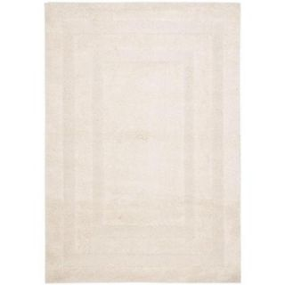 Safavieh Shadow Box Shag Creme 5 ft. 3 in. x 7 ft. 6 in. Area Rug SG454 1111 5